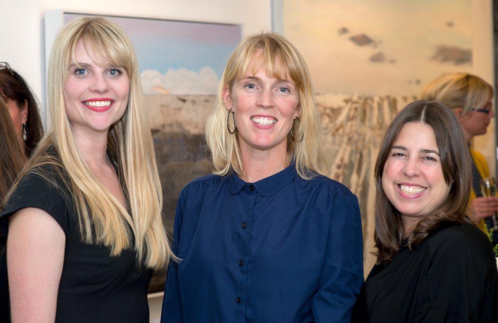 Claire Pearce, Kerry Harding & Kimberley Kriete