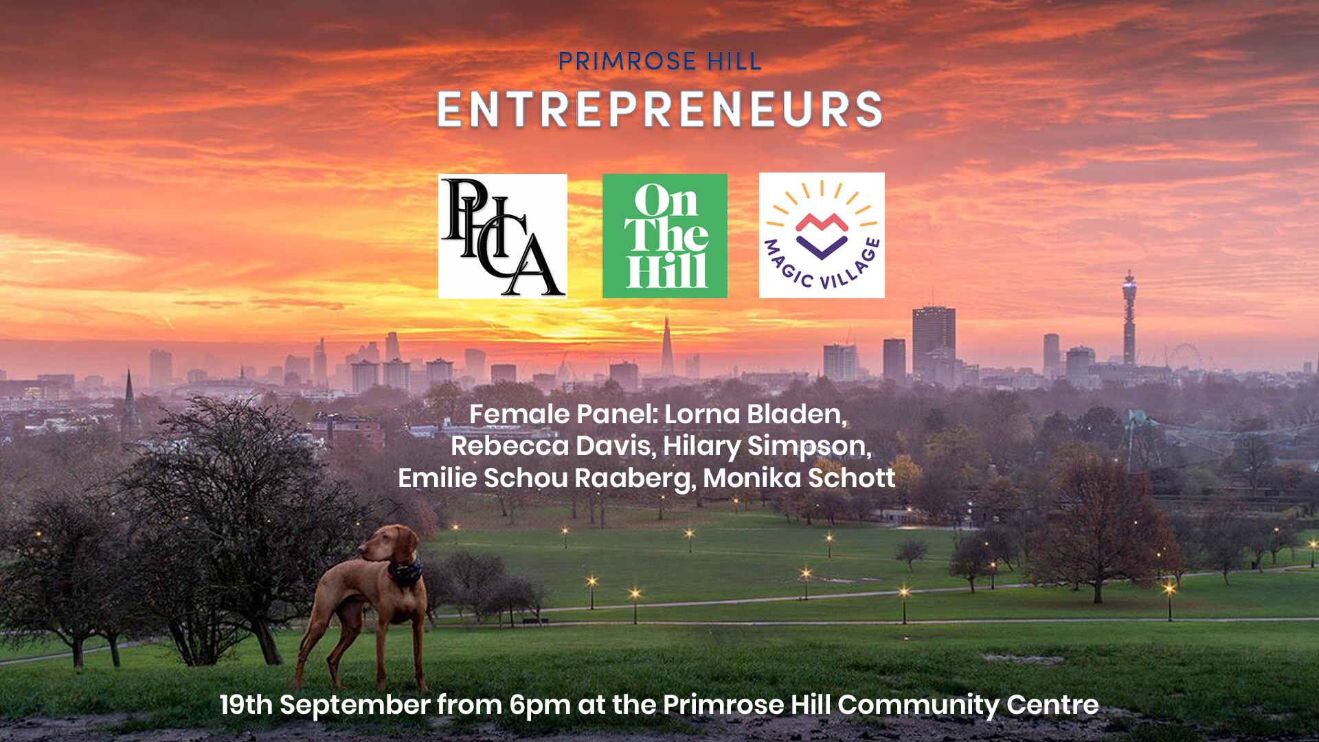 Primrose Hill Entrepreneurs Female Panel