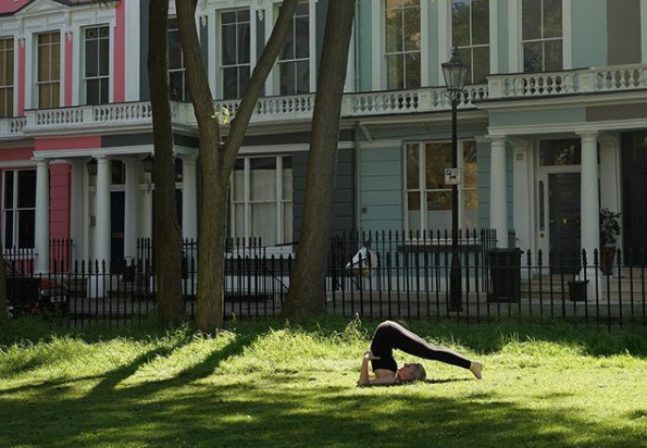 Yoga in Chalcot Square