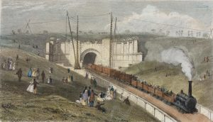 28 East End of Primrose Hill Tunnel, October 1837
