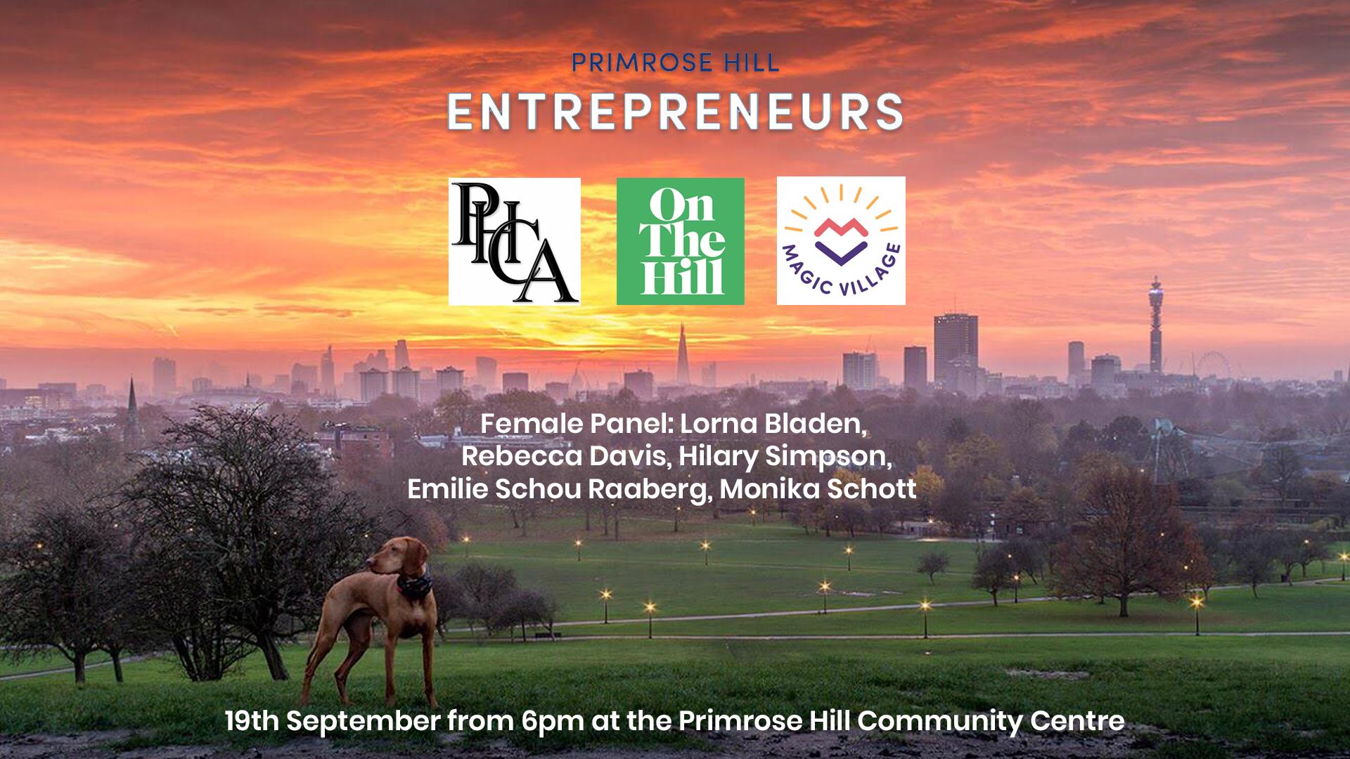 Primrose Hill Entrepreneurs Female Panel