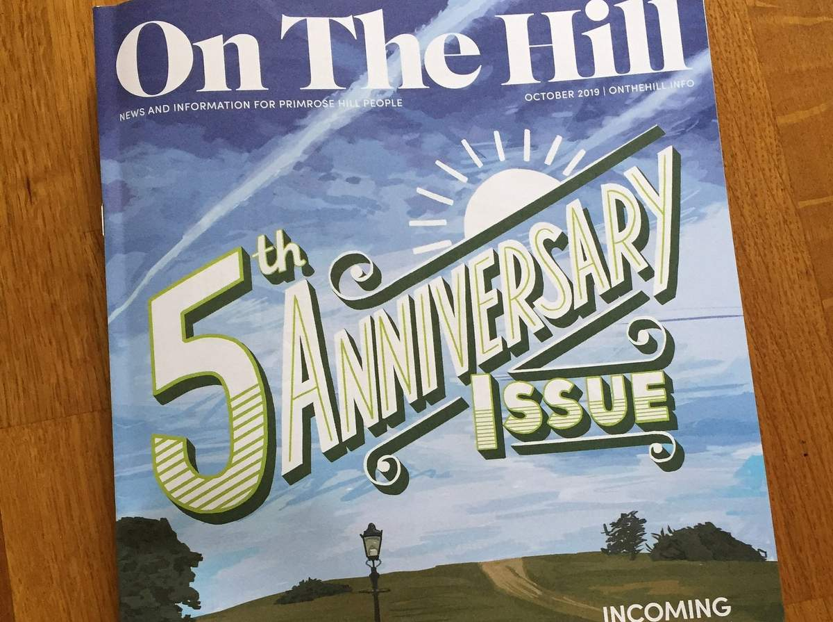 On The Hill Magazine October 2019 edition of the primrose hill magazine