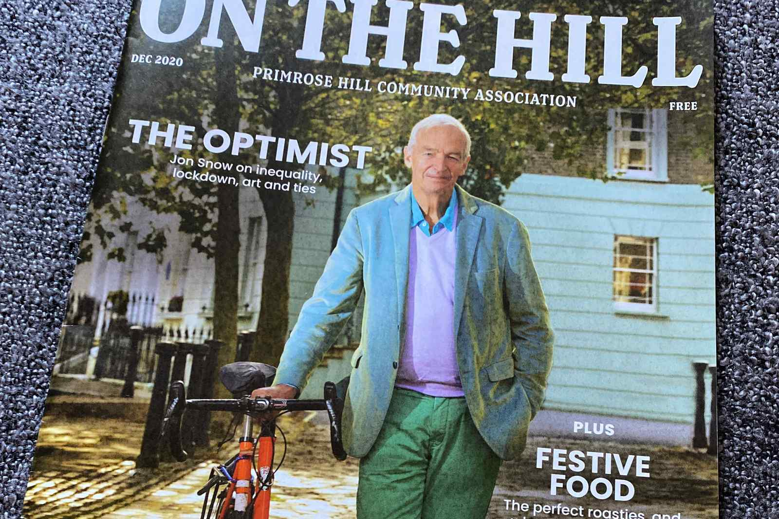 Jon Snow in Primrose Hill - On The Hill Magazine